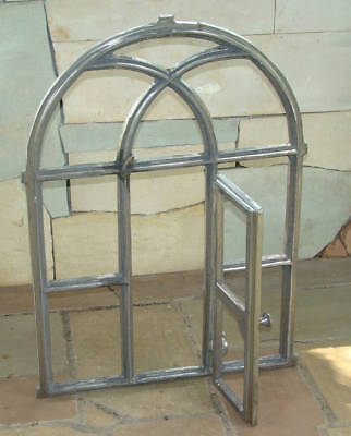 720 x 500mm BIG Natural Antique Cast Iron Window