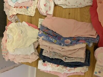 Baby Girl Summer Clothes Bundle 0-6m