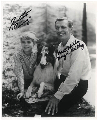 Lassie Tv Cast - Autographed Signed Photograph With Co-Signers