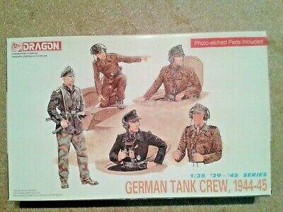 Dragon 6014  German Tank Crew 1944/45 1/35-Seconda Guerra Mondiale