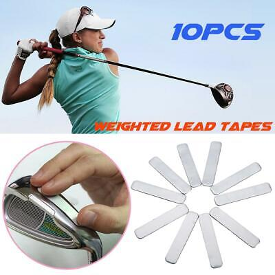 10 PCS Golfer Adhesive Lead Tape Strips For GOLF Tennis Racket Golf Accessaries