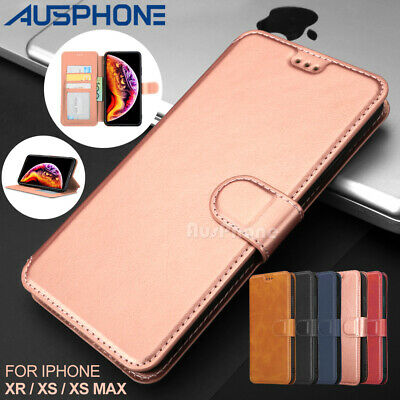 Retro Magnetic Flip Leather Wallet Case Pouch Stand for Apple iPhone XS MAX XR X