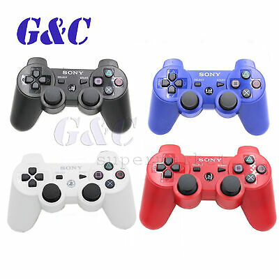 For Sony PlayStation 3 PS3 DualShock 3 Bluetooth Wireless SixAxis Controller
