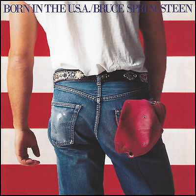 BRUCE SPRINGSTEEN - BORN IN THE USA D/Remaster CD ~ I'M ON FIRE ++ U.S.A. *NEW*