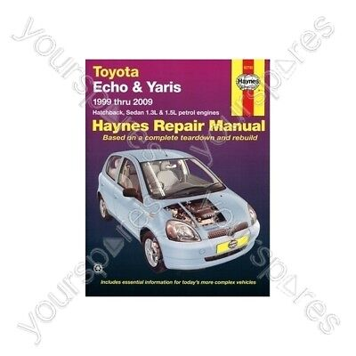 Haynes Car Manual - Toyota Echo & Yaris (1999-2009)