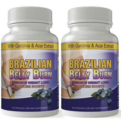 Pure Diet Pill Fat Burn Weight Loss 2 Pack 100% 120 Caps Day Use Free Shipping