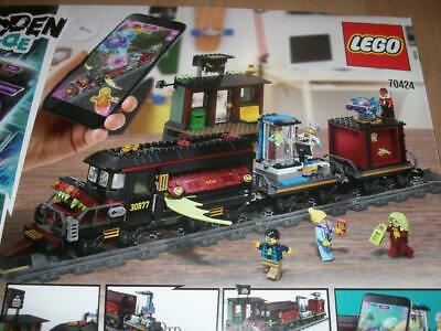 LEGO 70424 HIDDEN Side* BAHNHOF+EISENBAHN ohne Figuren/no  figures/TRAIN+STATION