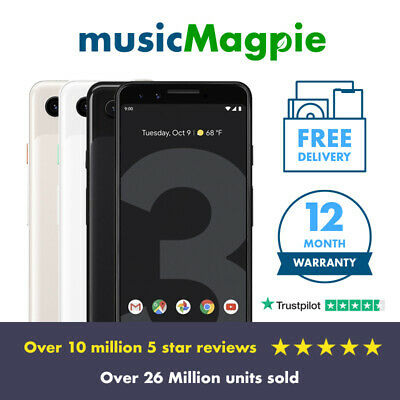 Google Pixel 3 - 64GB, 128GB - Unlocked / Network Locked - Various Colours