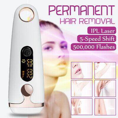 3IN1 IPL PERMANENT Hair Laser Removal Skin Body Face Acne