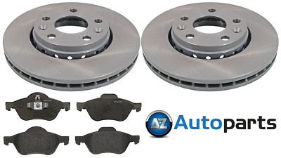 Renault Megane II 1.5 dCi 100 Front Brake Pads Discs 280mm Vented