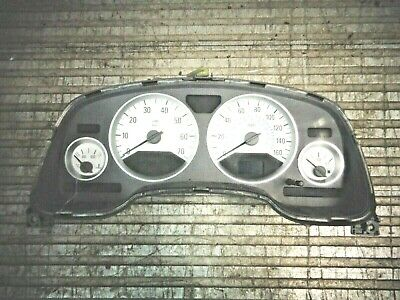 Astra Mk4 Gsi Genuine Gm White Speedo Cluster / Clocks