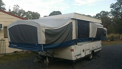 2008 Fleetwood Pop Top Camper Caravan Tent Camper trailer not Jayco expanda