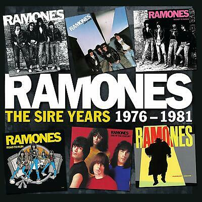 RAMONES The  Sire Years 1976-1981 [Box] by Ramones CD BOX LOT 6 CDs PUNK