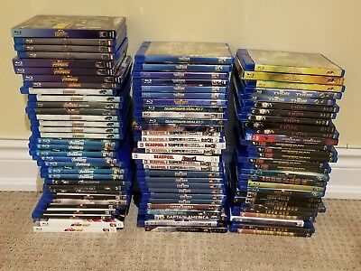 Marvel Blu Ray Movies Iron Man Thor Alita Captain Marvel America Shazam