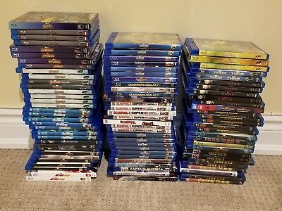 Marvel Blu Ray Movies Iron Man Thor Ant-Man Captain Marvel America Guardians