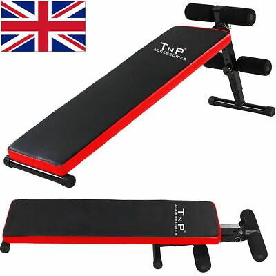 Sit Up Ab Abdominal Board Bench Stomach Abs Core Trainer Home Gym Exercise Situp