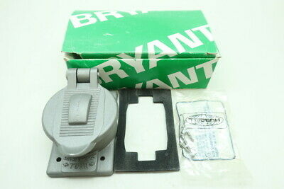 Bryant 7770 Hubbell Aluminum Lift Cover Plate