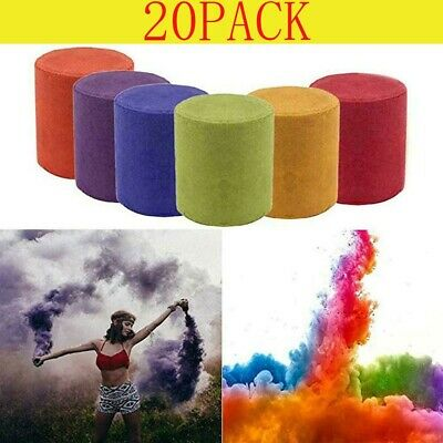 20x Smoke Cake Colorful Round Bomb Effect Show Magic Photography Video Aid Toy