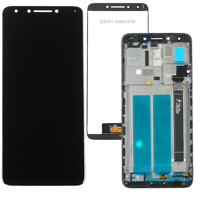 US LCD Display Screen Touch Screen Digitizer + Frame METRO PCS ALCATEL 7 6062W