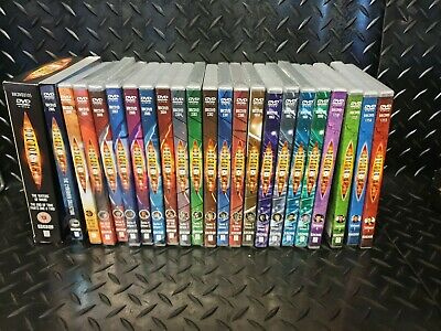 Job Lot of 24 Doctor Who DVDs Eccleston and Tennant. Specials & Cybermen