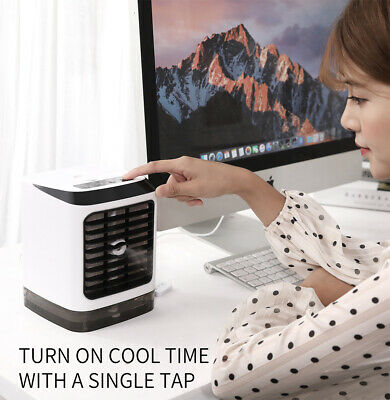 New Arctic Air Conditioner Portable Fan Personal Space Air Cooler/Humidifier US