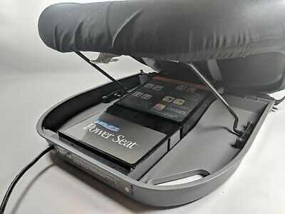 Uplift Power Seat Lift Memory Foam Cushion Seat Lift Model PS 1000 Black (bldg