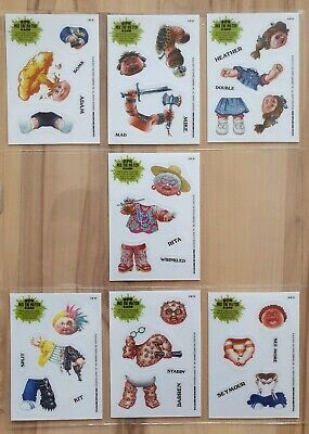 Garbage Pail Kids BNS 1. 2012. Mix & Match cards. Chase cards. 7 total of 10