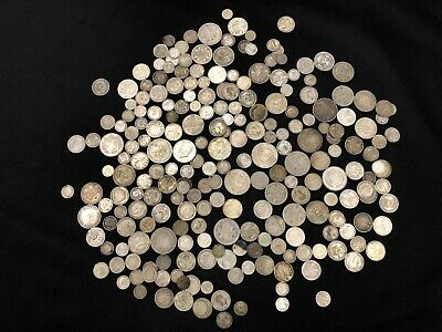 1KG of RARE & Highly Collectable SILVER world coins  - Lot 513