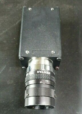 Basler A641F Industrial Camera W/ Pentax 25Mm Lens (In29S1B3)