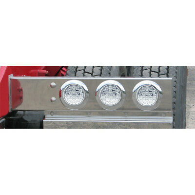 Trux TU-9209LC Rear Spring Loaded Light Bar With 6 - 4 Inch Red Clear Lens LEDs