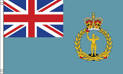 RAF Ensign Airforce FLAG 5/' x 3/' British Military Squadron Armed Forces