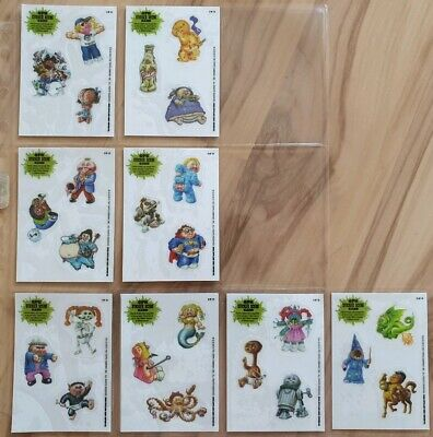 Garbage Pail Kids Brand New Series 3. 2013. Sticker Scene 8 total cards of 10.