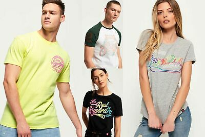 New Superdry Tshirts Selection for Men and Women - Various Styles & Colours 0606