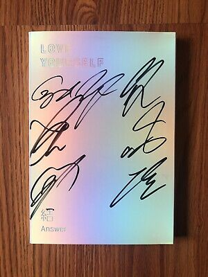 BTS Signed Love Yourself: Answer Album