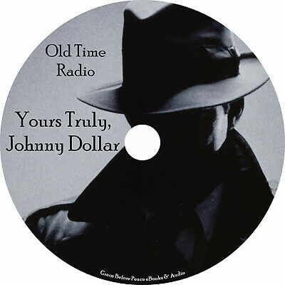Yours Truly, Johnny Dollar Old Time Radio Shows OTR 728 Episodes on 1 MP3 DVD