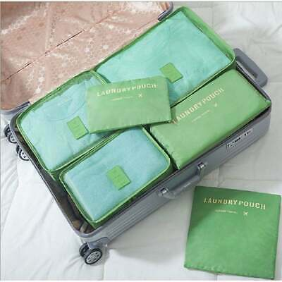 Packing Cubes for Luggage Travel Clothes Storage Bags, Organizer pouch. 6pc set