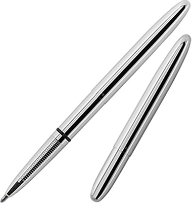 Fisher Space Pen - Bullet Ballpoint Pen - CHROME - NEW in box 400C