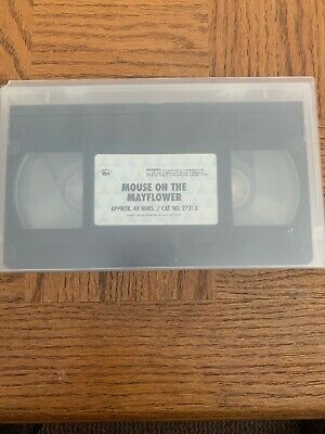 Mouse On The Mayflower VHS
