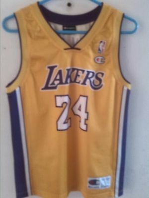 bc571269dc5 Los Angeles LA Lakers #8 BRYANT Champion NBA shirt Sleeveless SIZE L(11-