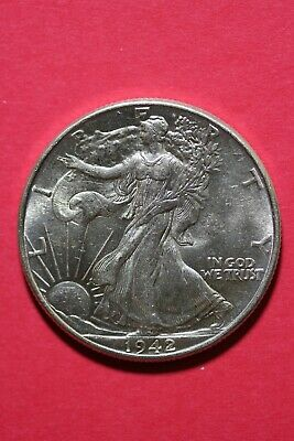 1942 P Walking Liberty Half Dollar Exact Coin Pictured Flat Rate Shipping OCE200