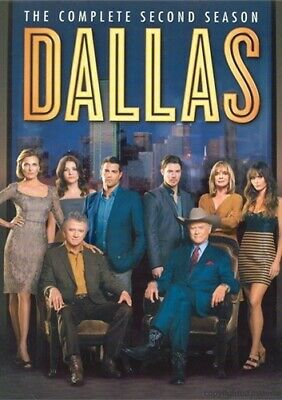 DALLAS 2012 TV SERIES COMPLETE SECOND SEASON 2 New Sealed 4 DVD Set