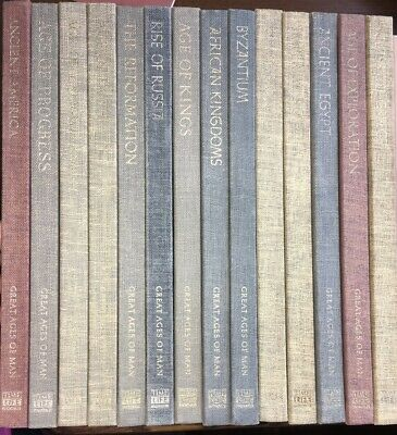 Time Life Great Ages Of Man - 14 Volumes published 1966-68