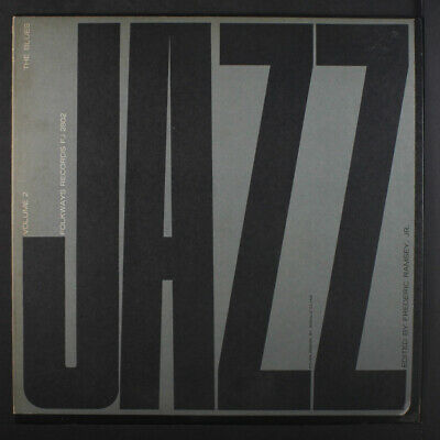 VARIOUS: Jazz, Vol. 2: The Blues LP (w/ insert, early re) Jazz
