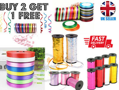 50 Meter Of Ballon Curling Ribbon For Party Gift Wrapping / Baloons Ballons Crs