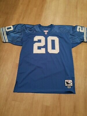 on sale 4f3e4 ed9cd BARRY SANDERS AUTHENTIC Detroit Lions Mitchell & Ness Jersey ...