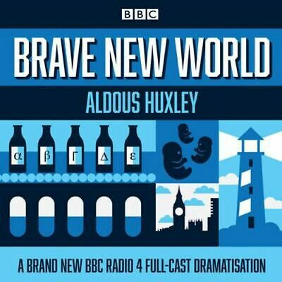 NEW Brave New World By Aldous Huxley Audio CD Free Shipping