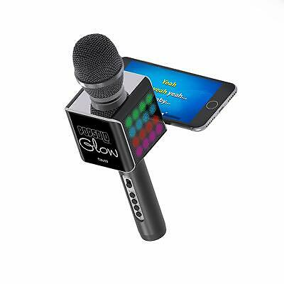 Tzumi PopSolo – Rechargeable Bluetooth Karaoke Microphone and Voice Mixer with S