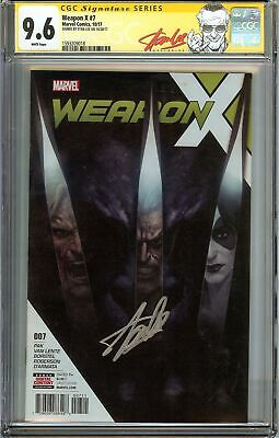 Weapon X #7 CGC 9.6 SS STAN LEE 1st app of WEAPON H Wolverine Sabretooth Domino