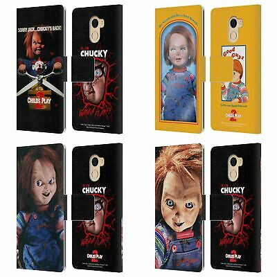 Official Child's Play Ii Key Art Leather Book Case For Wileyfox & Essential