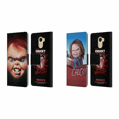 Official Child's Play Iii Key Art Leather Book Case For Wileyfox & Essential